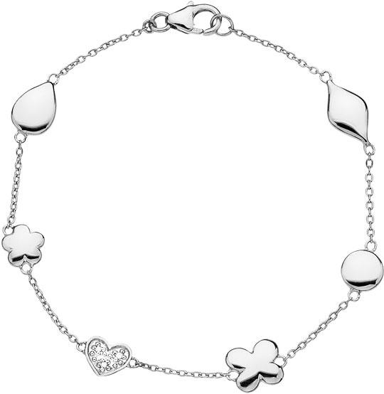 Браслеты Hot Diamonds DL292 браслет soul diamonds женский золотой браслет с бриллиантами buhk 9096 14kw