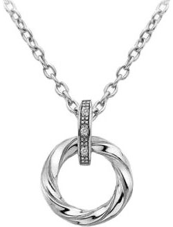 Кулоны, подвески, медальоны Hot Diamonds DP628 женский кулон soul diamonds золотой кулон с бриллиантами buhk 8280 14ky