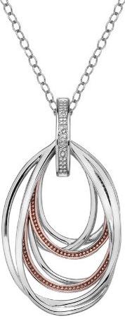 Кулоны, подвески, медальоны Hot Diamonds DP652 женский кулон soul diamonds золотой кулон с бриллиантами buhk 8280 14ky