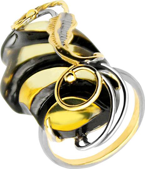 Кольца Янтарная Волна 720021-jav