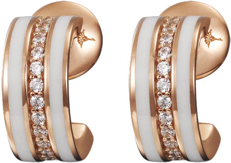 Серьги Joop JPER90254C000 серьги expression jewelry серебряные серьги пусеты запятые