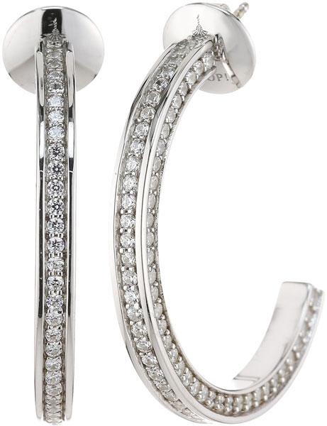 Серьги Joop JPER90271A000 серьги expression jewelry серебряные серьги пусеты запятые