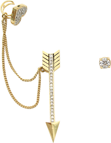 Серьги Juicy Couture WJW158/GOLD серьги juicy couture wjw103 gold
