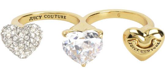 Кольца Juicy Couture WJW58/GOLD женские кольца кюп женское серебряное кольцо с куб цирконием alm3207001754 20