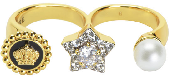 Кольца Juicy Couture WJW85/GOLD серьги juicy couture wjw103 gold