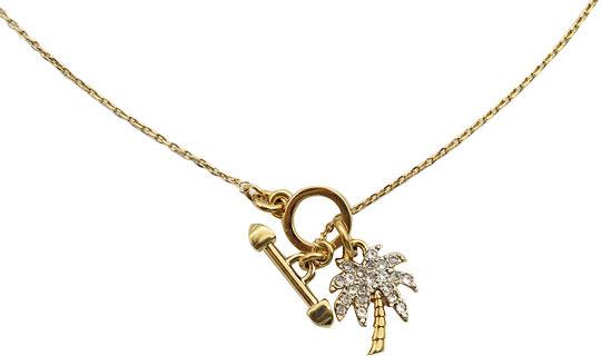 Кулоны, подвески, медальоны Juicy Couture YJRU6648/710 цепочка латунная