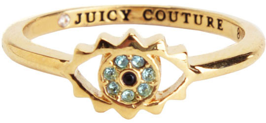Кольца Juicy Couture YJRU8131/GOLD серьги juicy couture wjw103 gold