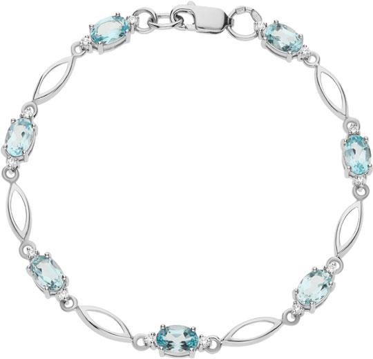 Браслеты Ювелирные Традиции Br620-013-18T женские браслеты jv женский серебряный браслет с куб циркониями br h0150 001 wg 18
