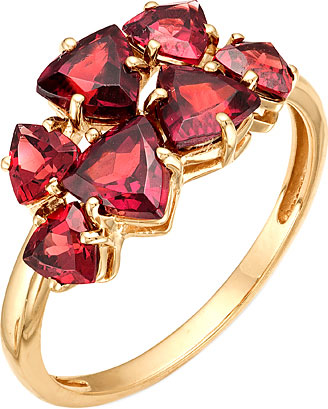 Кольца Ювелирные Традиции K120-1363RD новые роскошные серебряные кольца цветка cz кристаллические кольца коктеила кольца ювелирные изделия способа для женщин r639