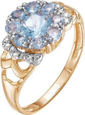 Кольца Ювелирные Традиции K122-3906T кольца ювелирные традиции k122 3823gr