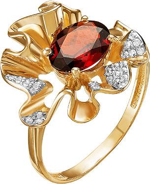 Кольца Ювелирные Традиции K122-4069GR