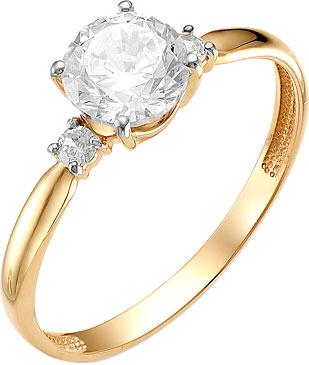 Кольца Ювелирные Традиции K132-2505 кольца ювелирные традиции k132 2876