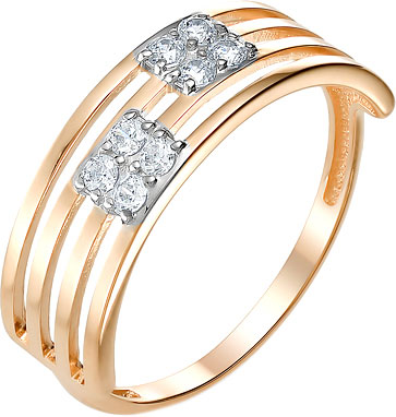 Кольца Ювелирные Традиции K132-3476 кольца ювелирные традиции k132 2876