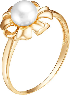 Кольца Ювелирные Традиции K140-4545 ювелирные кольца ku&ku стильное кольцо с жемчугом