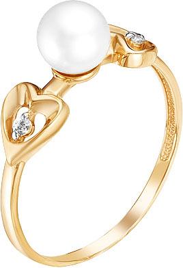 Кольца Ювелирные Традиции K142-4546 ювелирные кольца ku&ku стильное кольцо с жемчугом