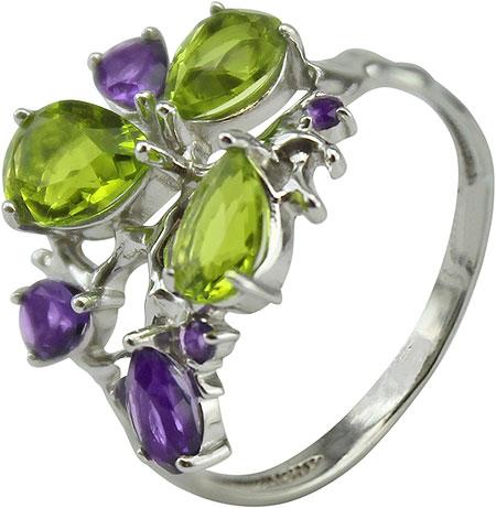 ювелирные кольца karmonia серебряное кольцо с марказитами Кольца Ювелирные Традиции K620-3466M44