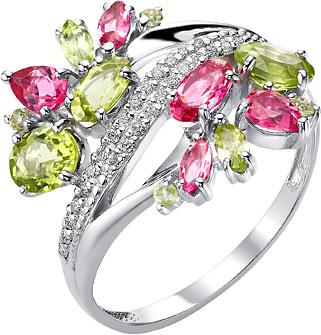 Серебряные кольца Кольца Ювелирные Традиции K620-4149M1 фото