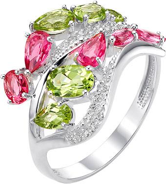 ювелирные кольца karmonia серебряное кольцо с марказитами Кольца Ювелирные Традиции K620-4155M1