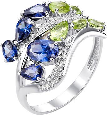 ювелирные кольца karmonia серебряное кольцо с марказитами Кольца Ювелирные Традиции K620-4155M4