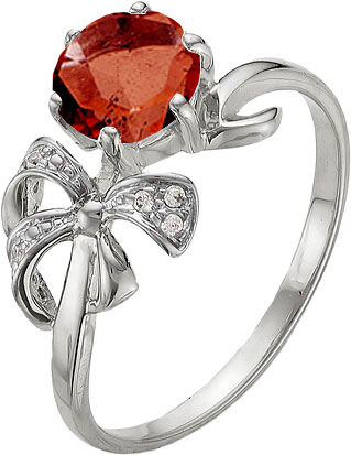 ювелирные кольца karmonia серебряное кольцо с марказитами Кольца Ювелирные Традиции K620-765Gr