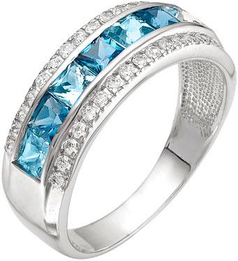 ювелирные кольца karmonia серебряное кольцо с марказитами Кольца Ювелирные Традиции K620-976TS