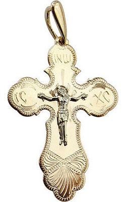 Фото - Крестики и иконки Ювелирные Традиции KR100-3940 ювелирные изделия
