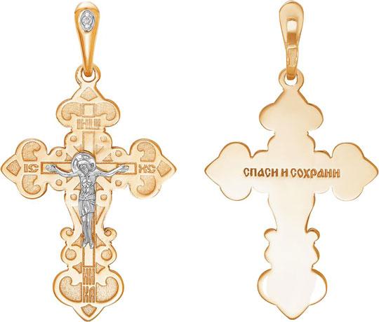 Крестики и иконки Ювелирные Традиции KR112-3883