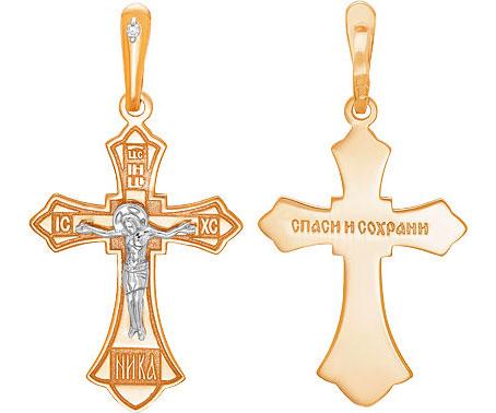Крестики и иконки Ювелирные Традиции Kr112-3972