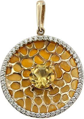 Кулоны, подвески, медальоны Ювелирные Традиции P1212-3864C