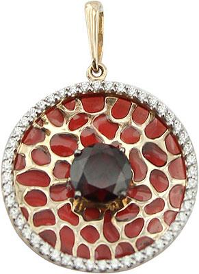 Кулоны, подвески, медальоны Ювелирные Традиции P1212-3864GR