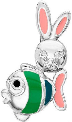 Кулоны, подвески, медальоны Ювелирные Традиции P6310-3160M1 ювелирные подвески серебро россии подвеска