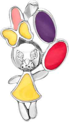 Кулоны, подвески, медальоны Ювелирные Традиции P6310-3163M1