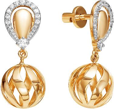 Серьги Ювелирные Традиции S132-4145 ювелирные серьги fresh jewelry ювелирные серьги