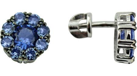 Серьги Ювелирные Традиции S215-3980SS мода ювелирные изделия медь мужчины и женщины любовь браслеты браслеты гвозди манжеты браслеты ювелирные изделия