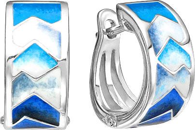 Серьги Ювелирные Традиции S6110-3338 ювелирные серьги krasnoe серебряные серьги