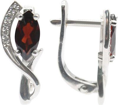 Серьги Ювелирные Традиции S620-1105Gr ювелирные серьги krasnoe серебряные серьги