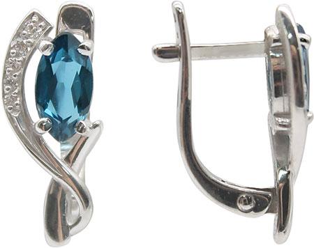 Серьги Ювелирные Традиции S620-1105TL ювелирные серьги krasnoe серебряные серьги
