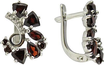 Серьги Ювелирные Традиции S620-1370GR ювелирные серьги krasnoe серебряные серьги