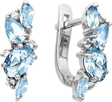 Серьги Ювелирные Традиции S620-1381T ювелирные серьги krasnoe серебряные серьги