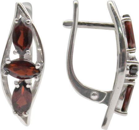 Серьги Ювелирные Традиции S620-1513Gr ювелирные серьги krasnoe серебряные серьги