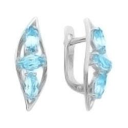 Серьги Ювелирные Традиции S620-1513TS ювелирные серьги krasnoe серебряные серьги