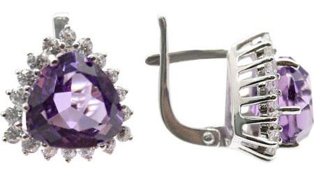 Серьги Ювелирные Традиции S620-191Am ювелирные серьги krasnoe серебряные серьги