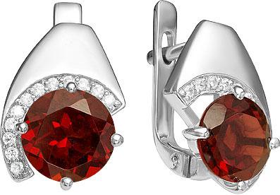 Серьги Ювелирные Традиции S620-4138Gr ювелирные серьги krasnoe серебряные серьги