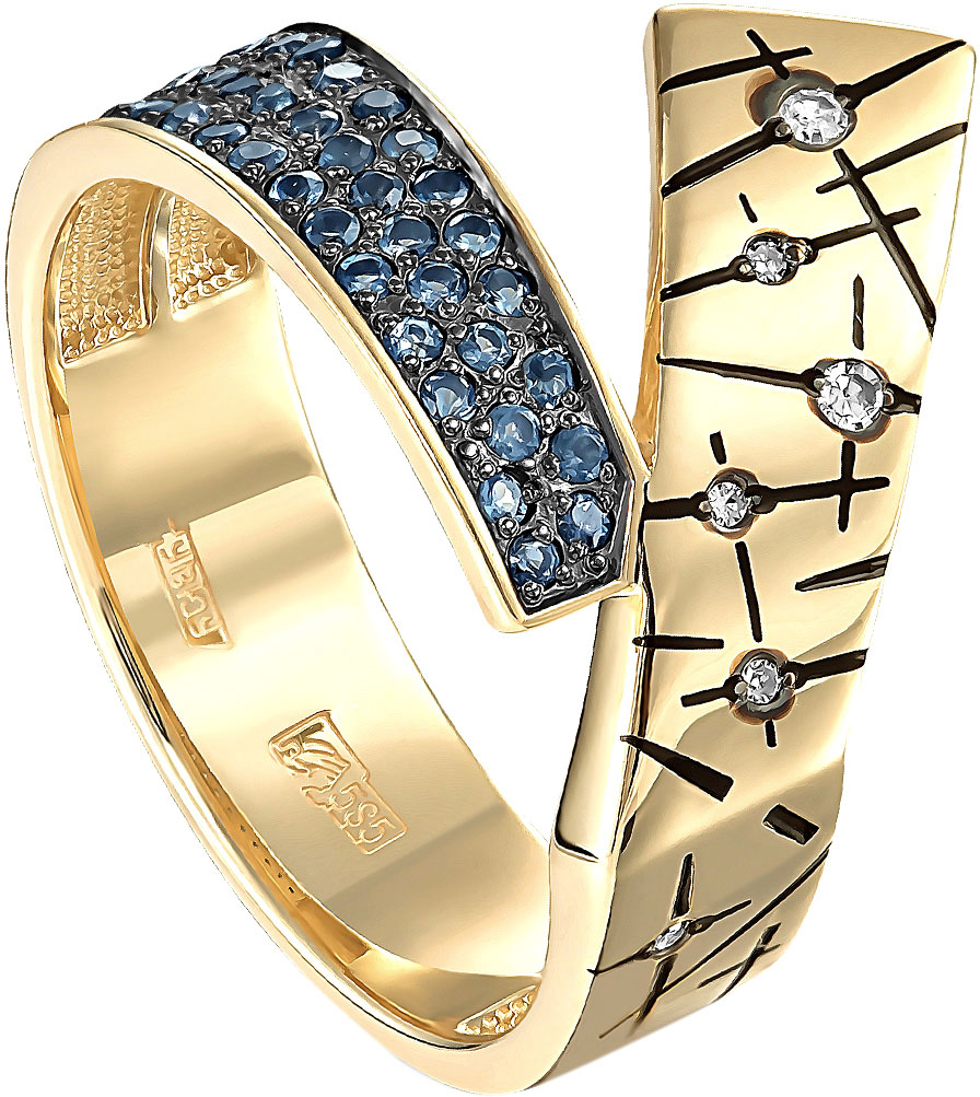Кольца Kabarovsky 11-21151-2302 kabarovsky кольцо 11 21151 2302 размер 18