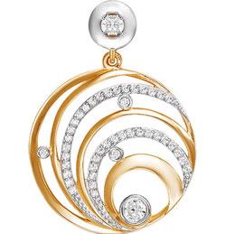 Кулоны, подвески, медальоны КЮЗ Дельта 031504-d кольца кюз дельта 311439 d
