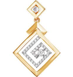 Кулоны, подвески, медальоны КЮЗ Дельта 031516-d кольца кюз дельта 311439 d