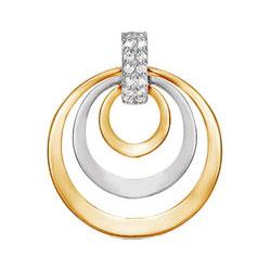 Кулоны, подвески, медальоны КЮЗ Дельта 031520-d кольца кюз дельта 114453 d