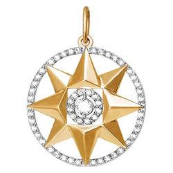 Кулоны, подвески, медальоны КЮЗ Дельта 031567-d кольца кюз дельта 114454 d