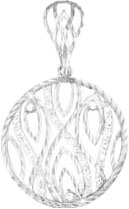 Кулоны, подвески, медальоны КЮЗ Дельта S030368 кольца кюз дельта 311439 d