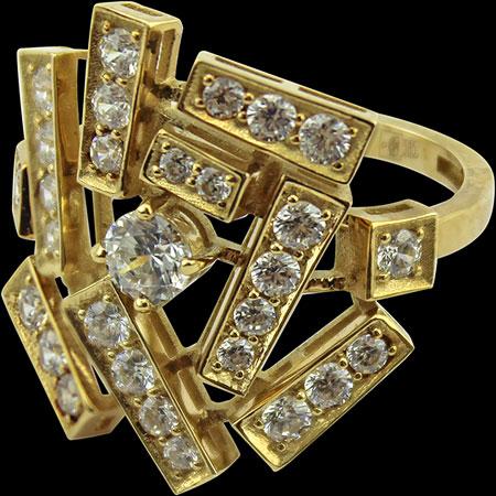 Кольца Leo Totti 1-00130-36319